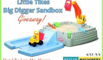 Little Tikes Big Digger Sandbox Giveaway (Ends 5/4)