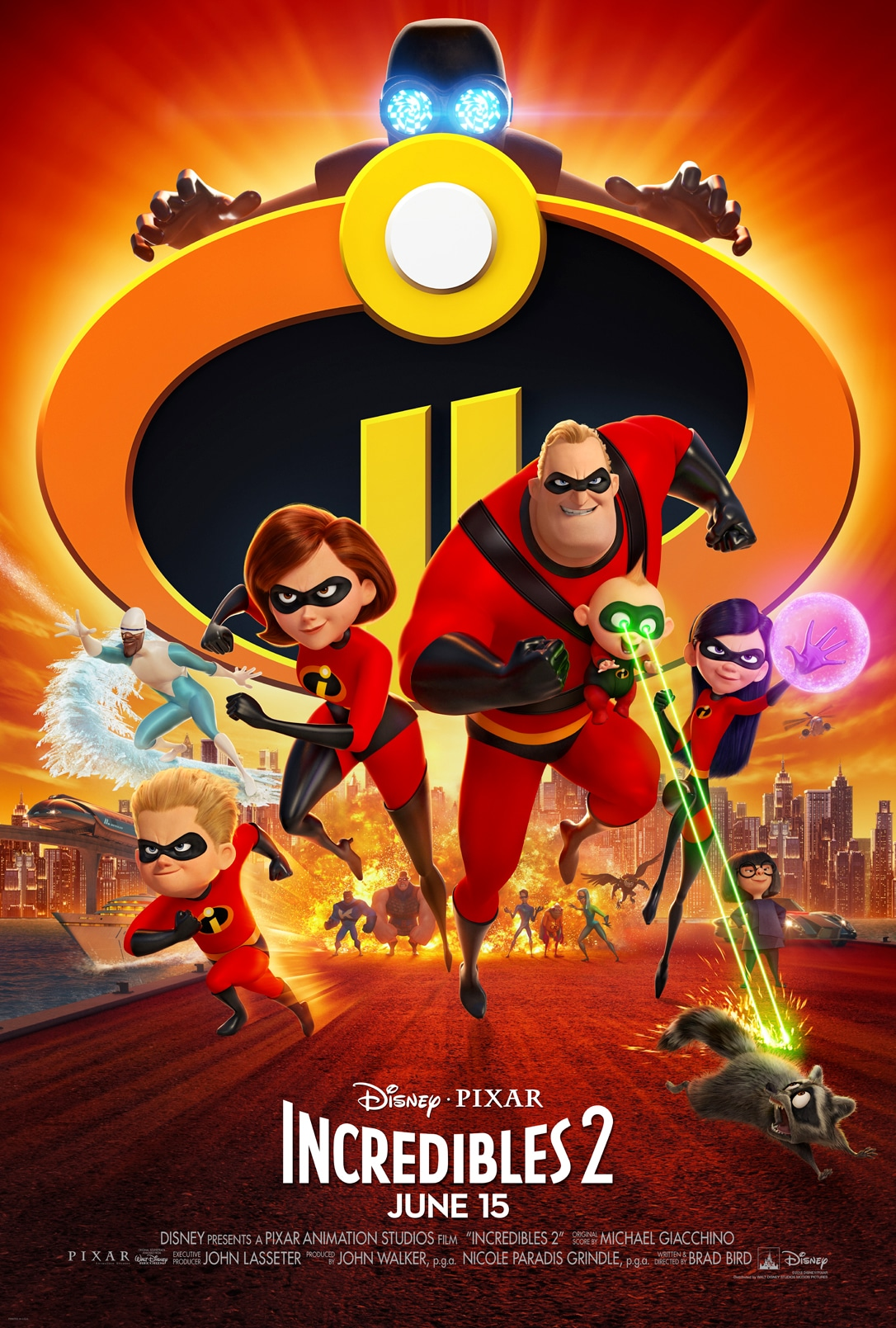 Disney•Pixar's INCREDIBLES 2 - New Trailer & Poster! #Incredibles2