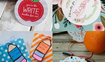 12 Printable Teacher Appreciation Gifts
