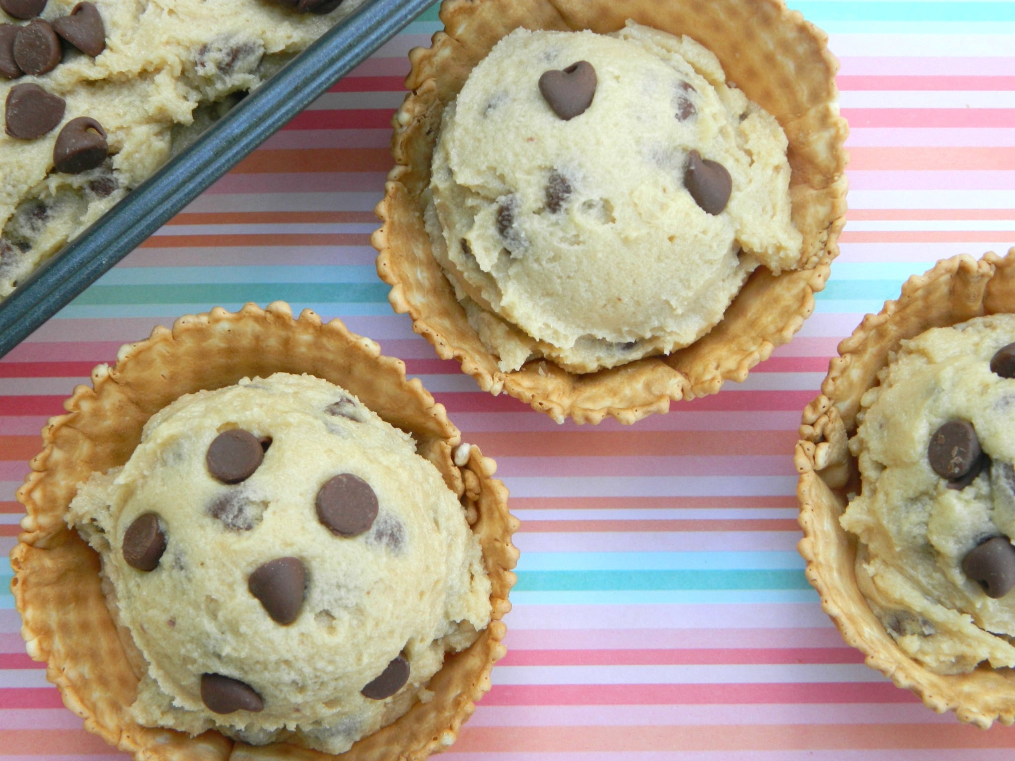 The Best Edible Chocolate Chip Cookie Dough!
