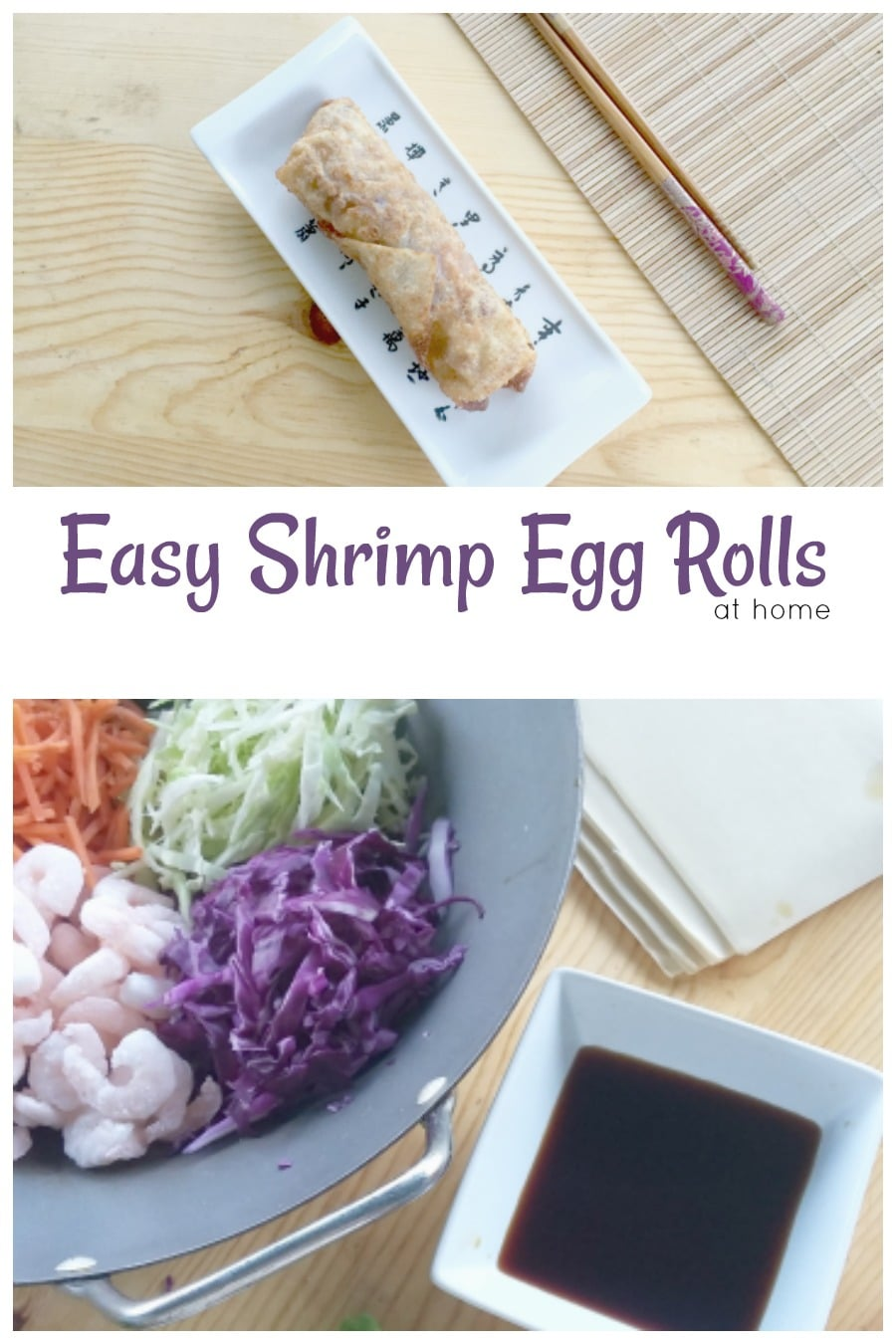 Easy Shrimp Egg Rolls