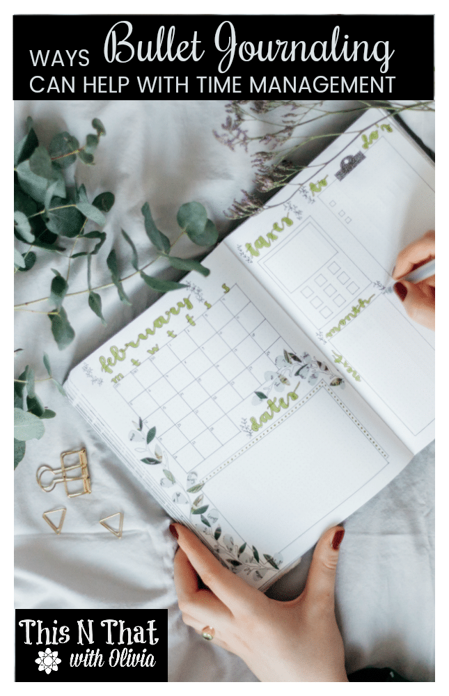 4 Ways Bullet Journaling Can Help with Time Management