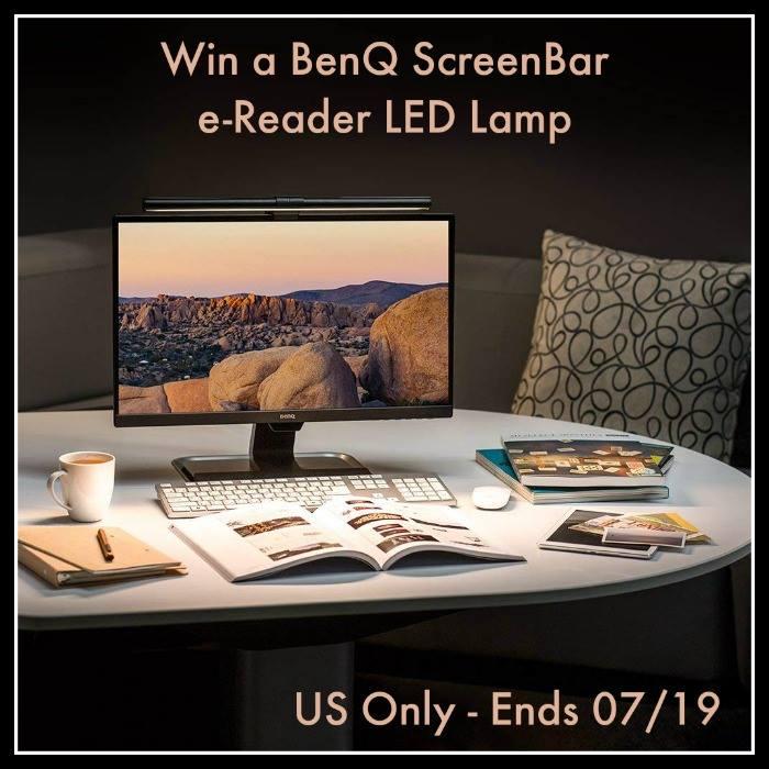Win a BenQ ScreenBar e-Reading LED Task Lamp (Ends 7/19)