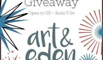 art & eden $75 Gift Card Giveaway (Ends 7/24)