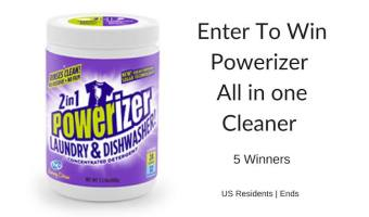 Enter to Win Powerizer All in One Cleaner (5 Winners) (Ends 8/3)