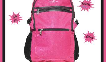 Win a Paris Sparkle Backpack from Obersee (Ends 9/20)