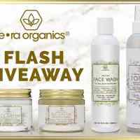 ERA Organics Nighttime Routine Prize Pack Giveaway (Ends 10/8)