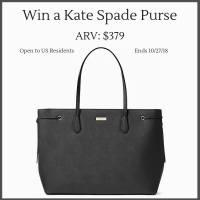 Win a Kate Spade Purse (ARV $379) Ends 10/27
