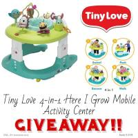 Tiny Love 4-in-1 Here I Grow™ Mobile Activity Center Giveaway (Ends 11/1)
