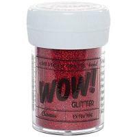American Crafts 27314 Glitter, Extra Fine Crimson