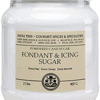 India Tree Fondant & Icing Sugar, 2 lb (Pack of 2)