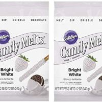 Wilton 1911-1300 Candy Melts, Bright White(2pk)