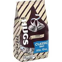HERSHEY'S HUGS Kisses Candies, Classic 12 oz Bag - 2 Pack