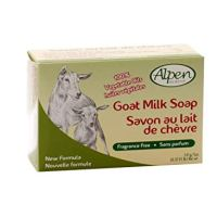 Alpen Secrets Fragrance Free Goat Milk Soap, 5-Ounce (Pack of 4)