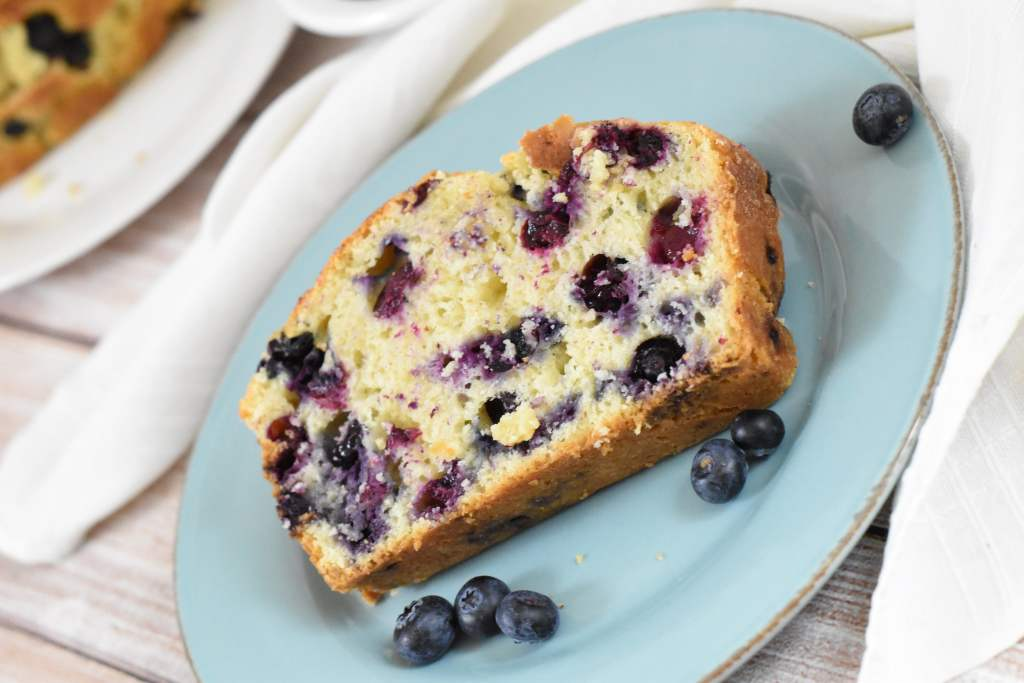 Homemade Blueberry Bread