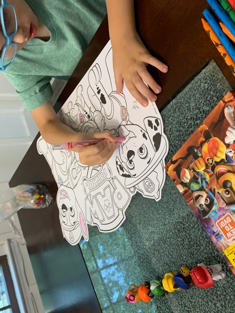 Coloring Pages for PAW Patrol: Dino Rescue