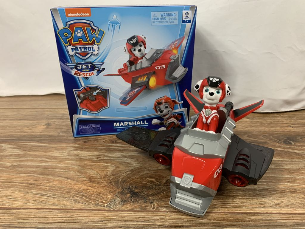 PAW PATROL: Jet to The Rescue Marshall's Deluxe Transforming Vehicle