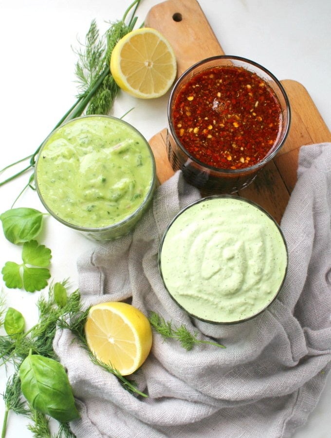 3 Oil Free Vegan Dressings