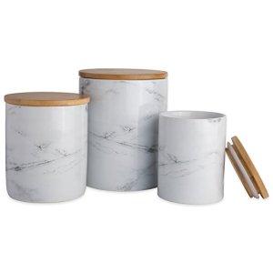 Marble Storage Jars