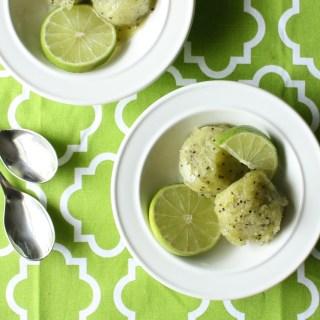 Kiwi Lime Sorbet