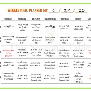 Get Organized! 3 Step Guide to Planning a Weekly Menu and Grocery List