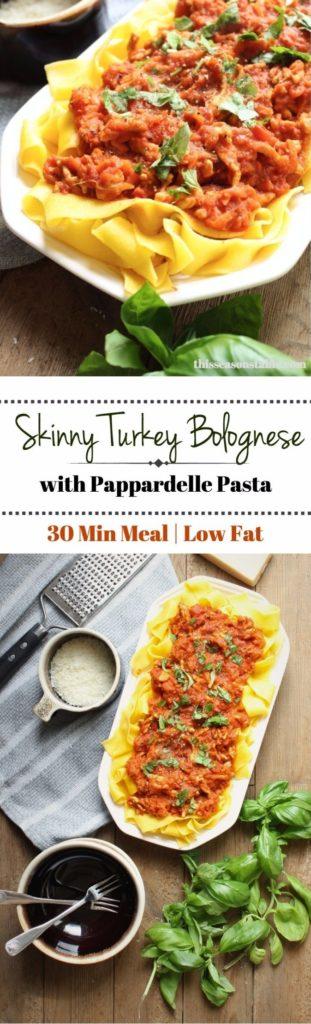 Skinny Turkey Bolognese