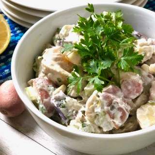 Plant-Based Potato Salad – Egg and Dairy Free!