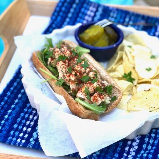 New England Style Mock Lobster Roll