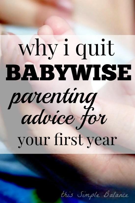 babywise parenting, does babywise work, should I use babywise