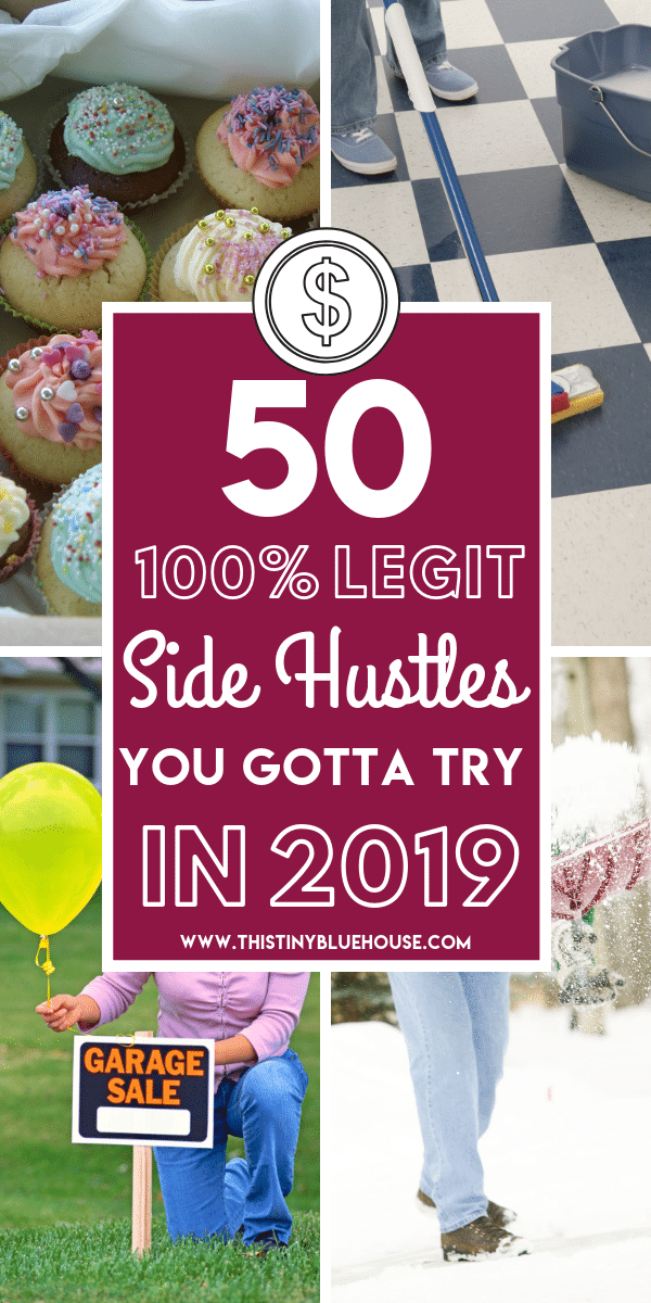 Looking to make extra cash and pad your savings account? Here are 50 of the BEST ultimate side hustles you can easily start today to start making and earning more money in 2019! #sidehustles #sidehustlescanada #sidehustlesideas #sidehustlesforintroverts #sidehustlesathome #waystomakemoney #waystomakeextramoney