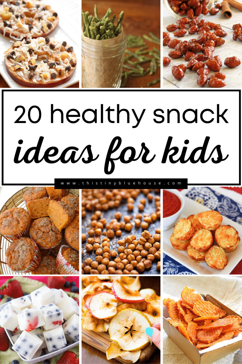 Looking for cheap healthy snack options for kids? Look no further. Here are 20 snack ideas that kids actually want to eat!