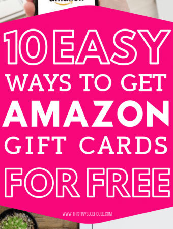 Are you looking to earn free Amazon gift cards? Here are 10 BEST ways to earn free amazon gift cards! Get going and start earning free cards to spend today! #amazongiftcards #freeamazongiftcards #amazongiftcardsfree #freeamazongiftcardcodes #howtogetfreeamazongiftcards