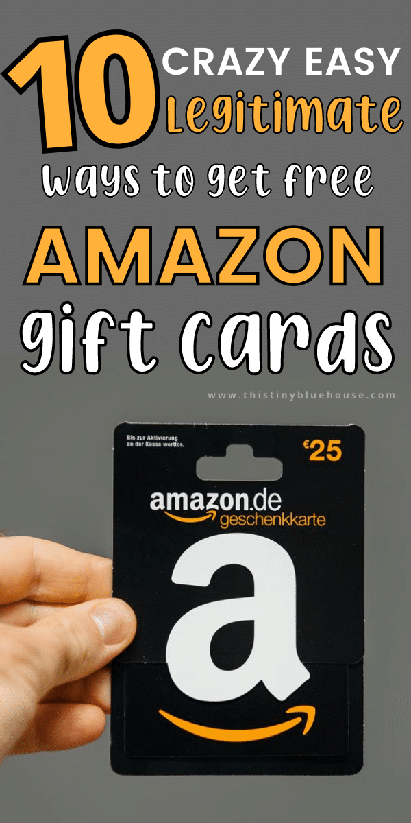 10 Best Ways To Earn Free Amazon Gift Cards