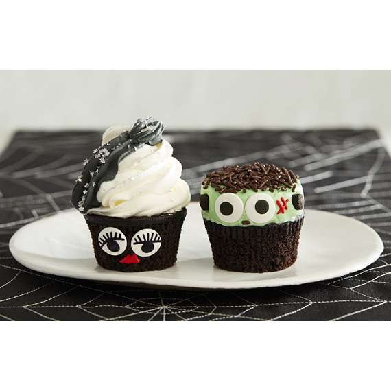15 Cute and Spooky Halloween Cupcakes (Part 1)
