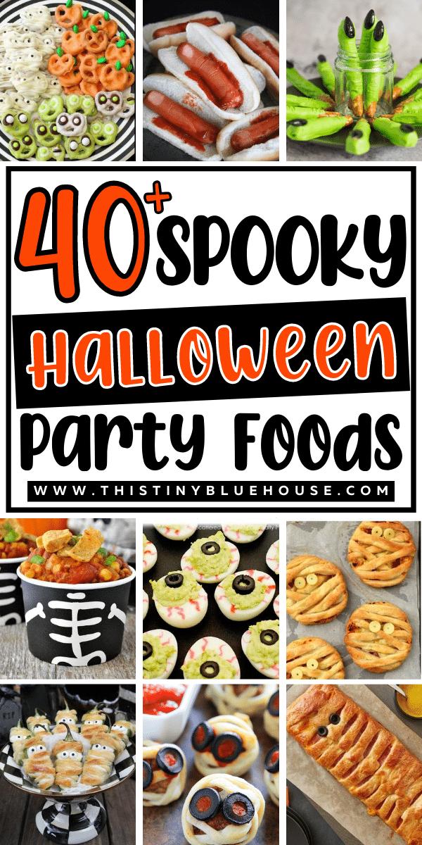 40 Best Spooky Halloween Party Finger Food Ideas