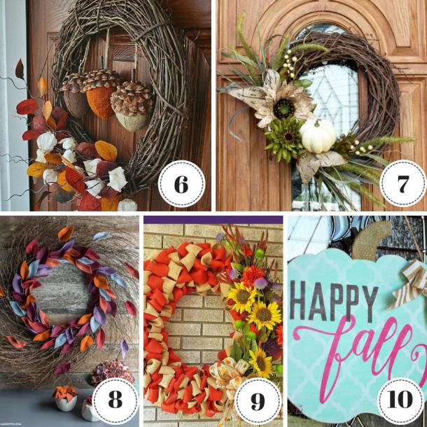 50 Best Cheap Fall Wreath Ideas This Tiny Blue House