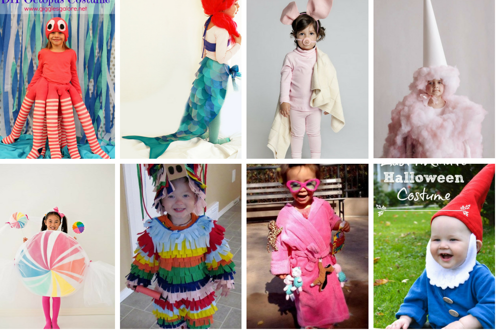 45 Super Cute Creative DIY Halloween Costumes For Kids ...