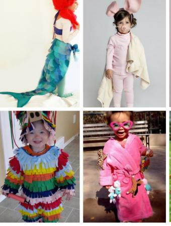 45 Super Cute Creative DIY Halloween Costumes For Kids