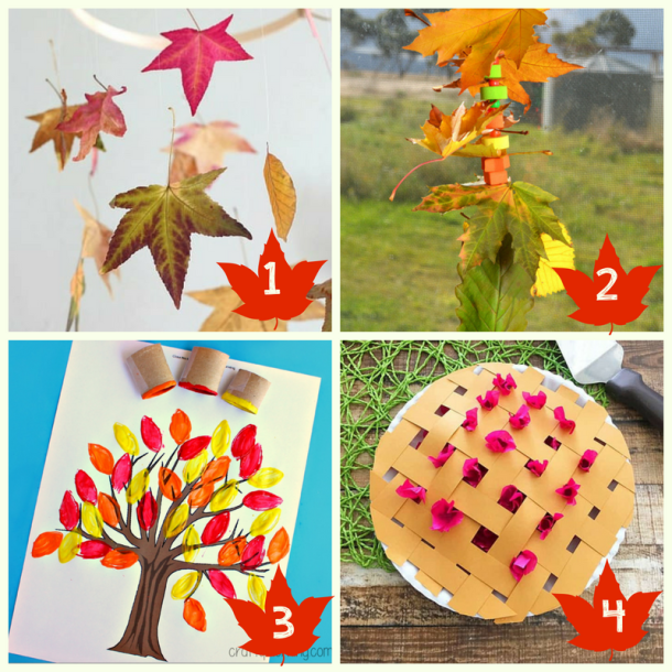 40 Crazy Easy Creative Fall Inspired Crafts For Kids This Tiny