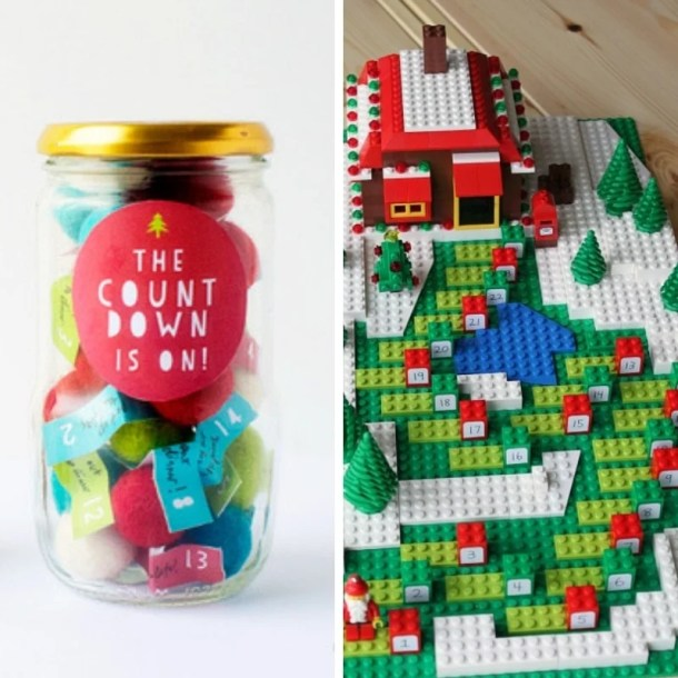 50 Gorgeous DIY Advent Calendar Ideas - Looking to add a custom DIY Advent Calendar to your holiday traditions? Here are 50 easy and gorgeous options to make your Christmas countdown extra special this year! #diyadventcalendar #diyadventcalendarforkids #diyadventcalendarideas #diyadventcalendarideaseasy #diyadventcalendarideassimple