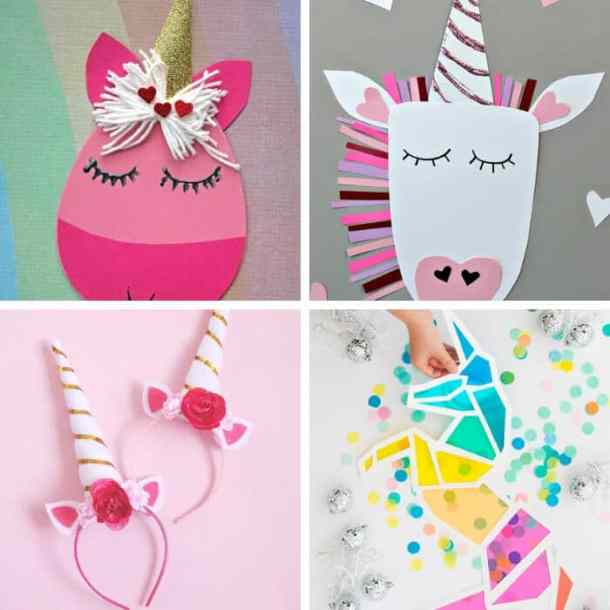 60 Gorgeous Easy Unicorn Crafts For Kids This Tiny Blue House