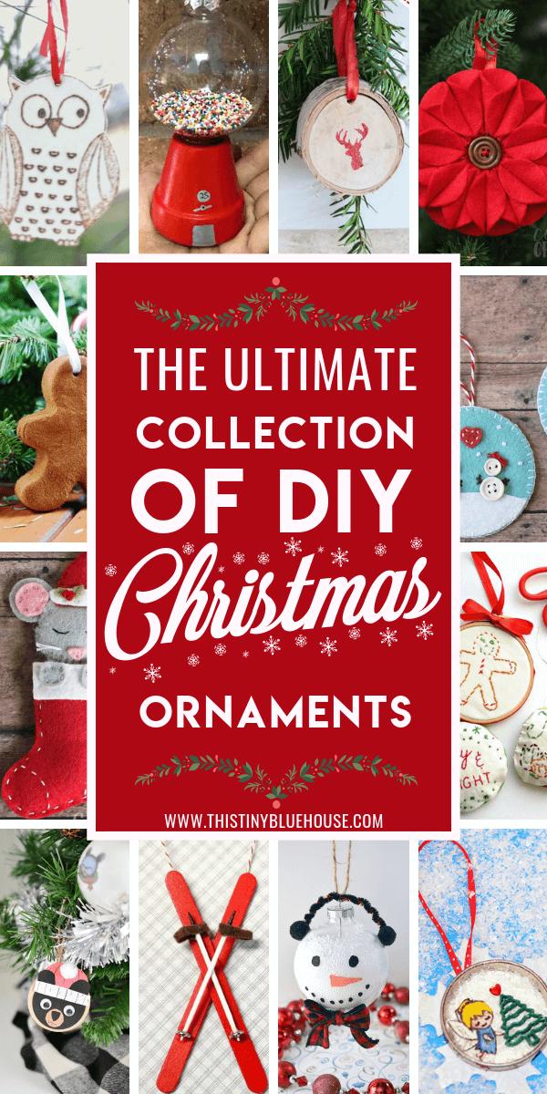99 Diy Christmas Ornaments This Tiny Blue House