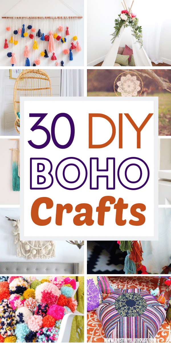 Add tons of Boho flair to your home with this stunning collection of dollar store Boho craft ideas. These gorgeous boho decor ideas are easy to make, wont break the bank and will add a touch of gypsy and hippie style to any room. #bohodecor #bohodecordiy #bohodecorgypsy #diybohodecor #diybohodecorideas #gypsystyle #gypsystyledecor #bohemiandecor