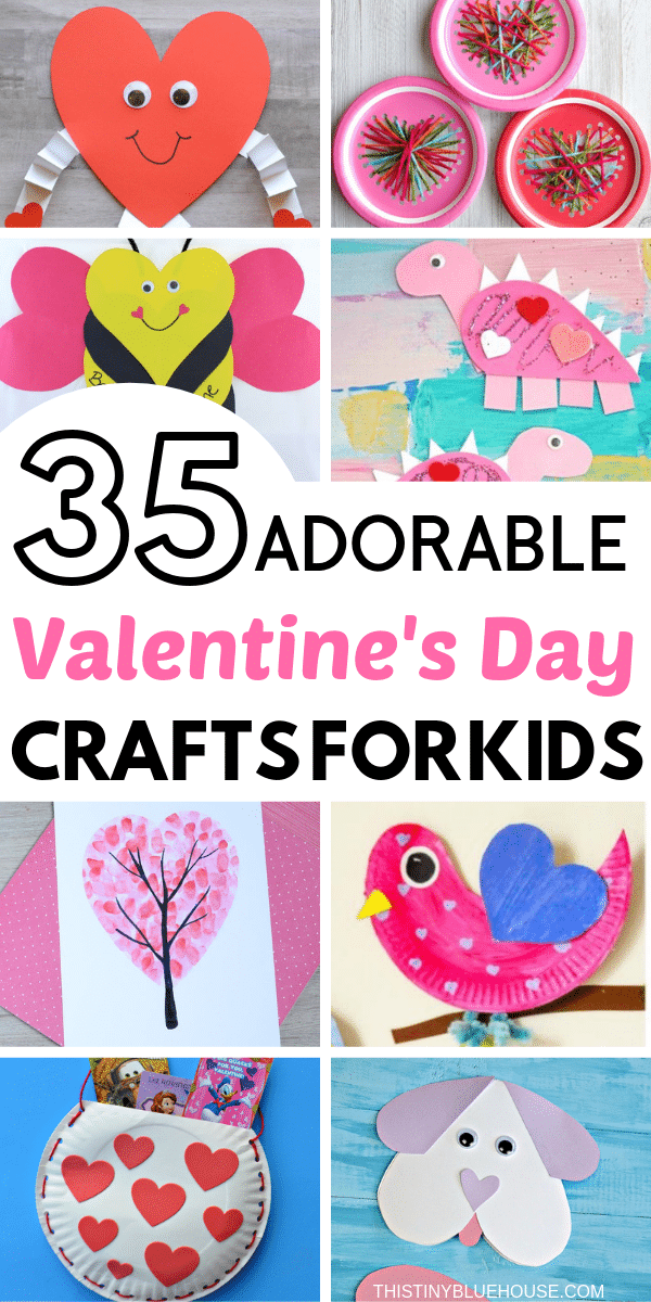 35 Adorable Valentine S Day Crafts For Kids This Tiny Blue House