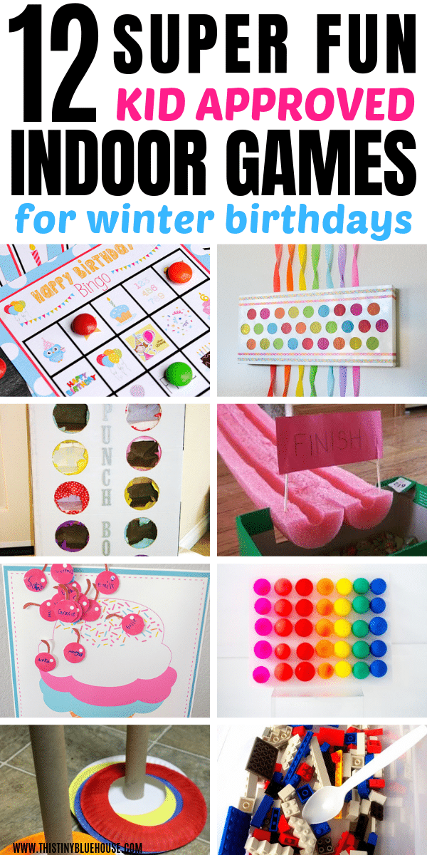 Here are 12 BEST indoor birthday party games that are perfect for winter birthdays. These best indoor winter birthday party games are a guaranteed way to entertain your kiddo and his little friends. #birthdaypartygames #birthdaypartygamesforkids #birthdaypartygamesfortoddlers #indoorbirthdaypartygames #indoorbirthdaypartygamesforkids #indoorbirthdaypartygamesfortoddlers