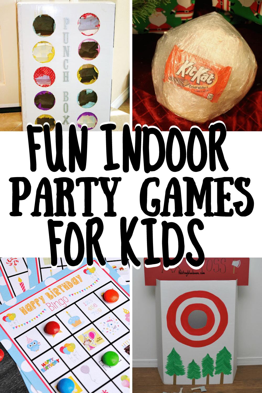 Fun Indoor Party Games For Kids