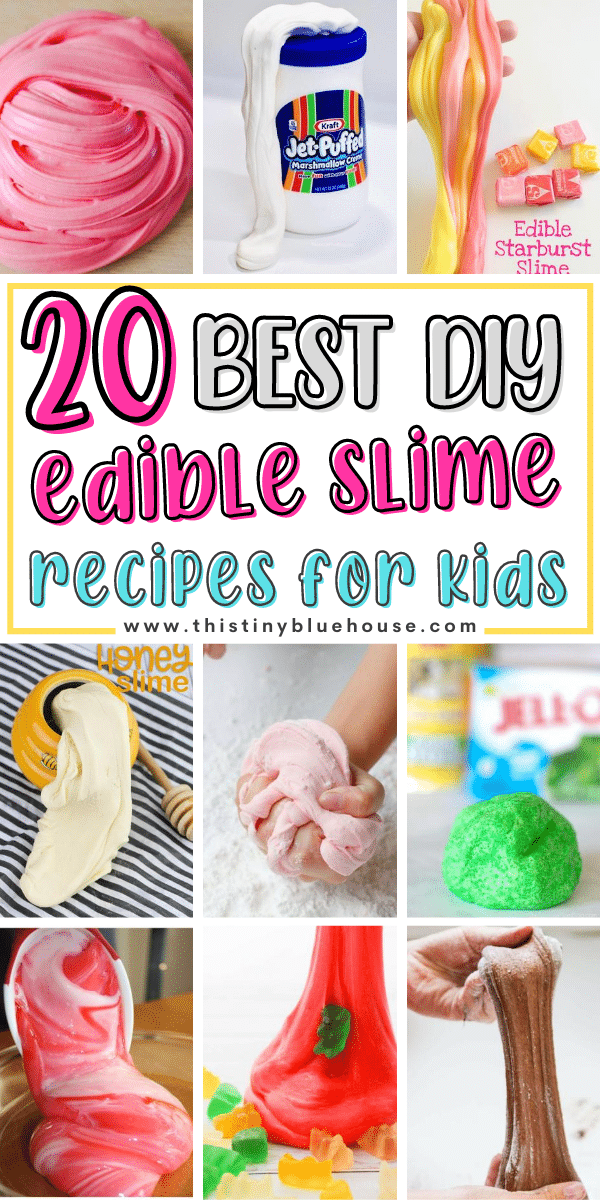 20 Best DIY Edible Slime Recipes For Kids