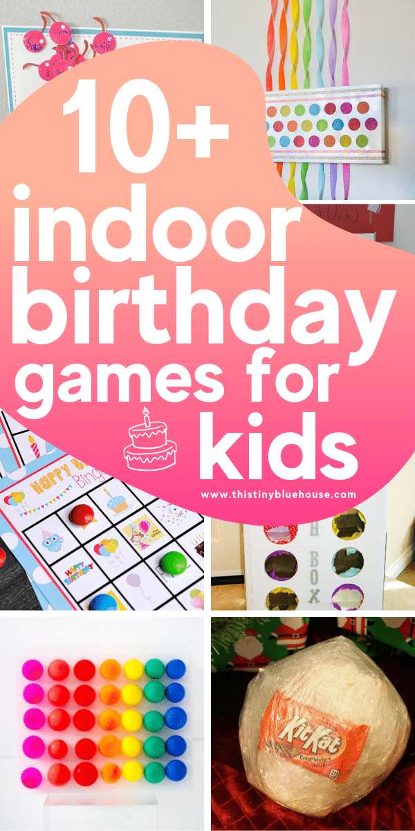 10+ Fun DIY Indoor Birthday Party Games For Kids