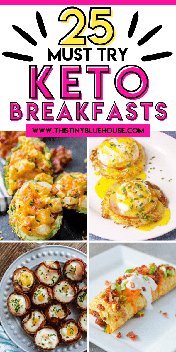 25 Delicious Low Carb Keto Breakfasts