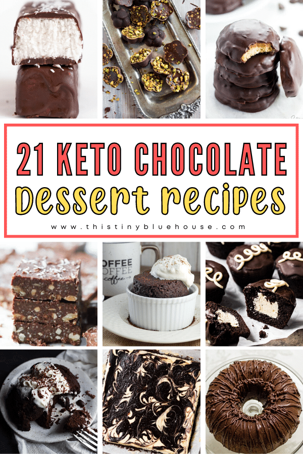 21 Beyond Delicious Keto Chocolate Dessert Recipes